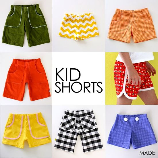 New Pattern: KID Shorts are here!