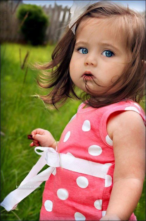 cute baby  .