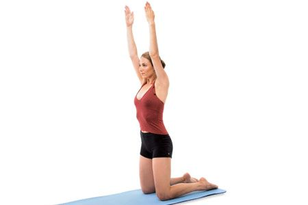 A yoga routine for better posture (strengthens and straightens your upper back).
