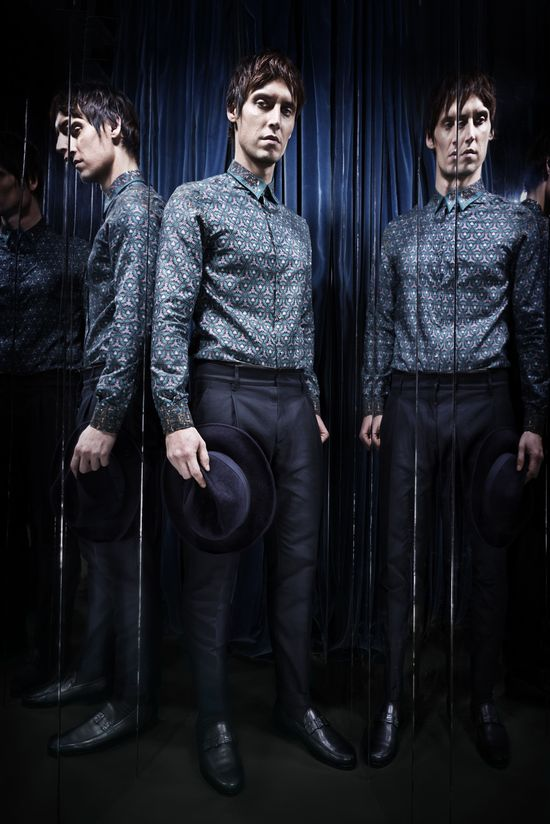 #RobertoCavalli Menswear FW 2013-14 collection
