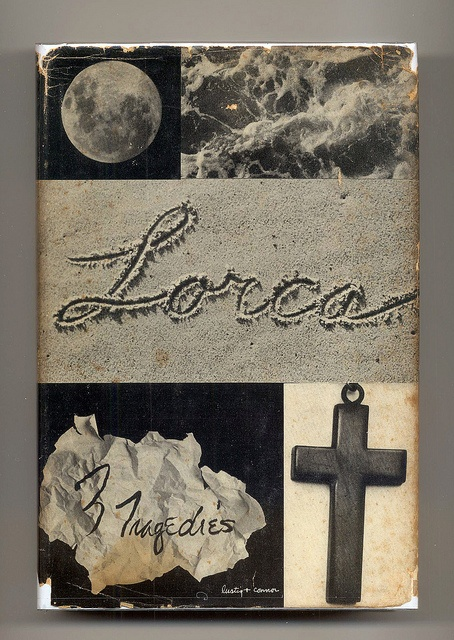 """3 Tragedies"" by Frederico García Lorca. Book jacket design by Alvin Lustig & Connor. New Directions (1948)"