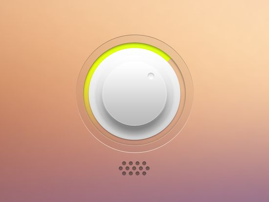 """Music App"" by David Massiani 2012-11 (@dribbble 834199)"