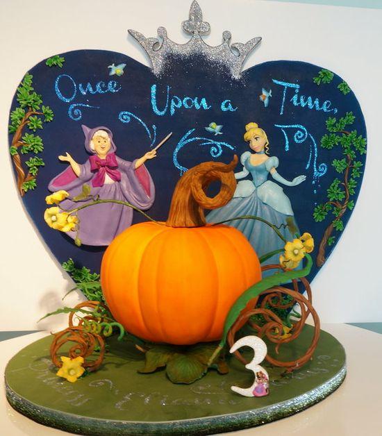 Cinderella Cake - by Svetlana @ CakesDecor.com - cake decorating website