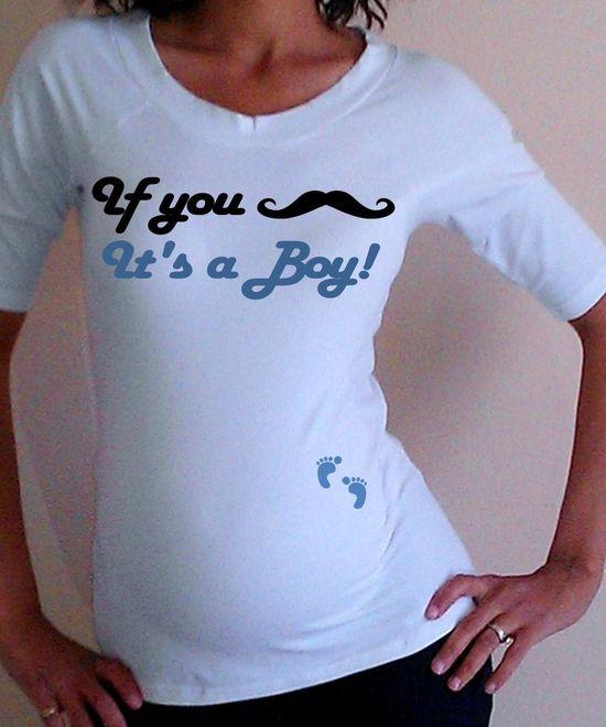 Cute Fun Maternity Shirt