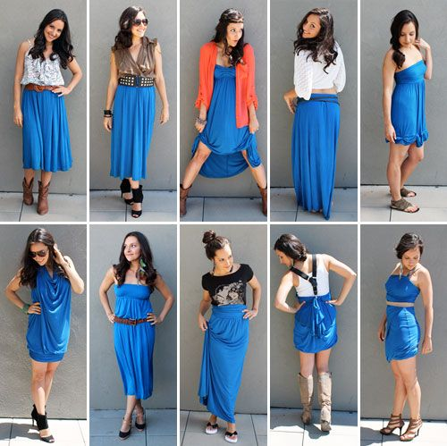 Got a summer maxi dress you love? Here are 10 new ways to style it.#Repin By:Pinterest++ for iPad#
