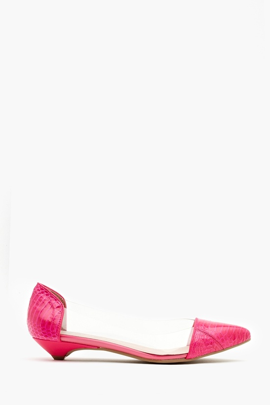 Scatter Flat - Fuschia Snake  $135
