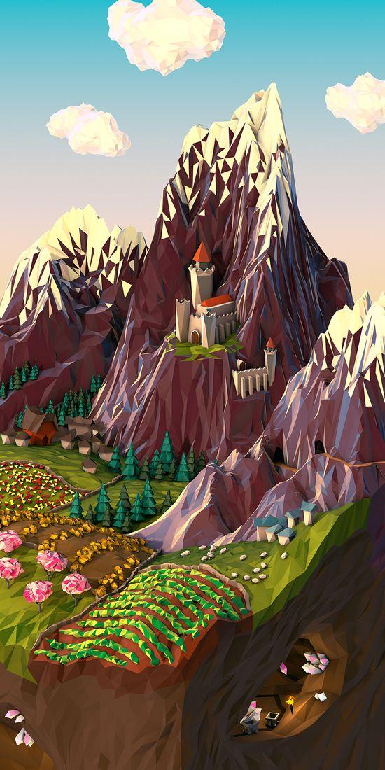 Geometric Landscapes - 3D Artist & Motion Designer