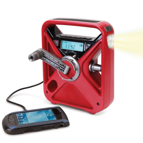 The Best Emergency Radio - with a hand crank for charging smartphones