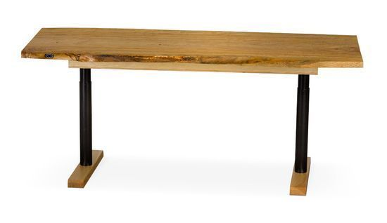 For Matt. Simple but still height adjustable Office Desk Layouts – a Balance Between Form