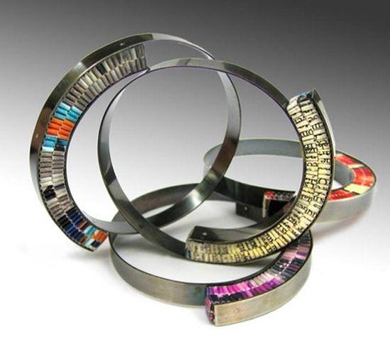 Francesca Vitali of Frucci Designs-paper jewellery