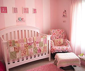 Baby Girl Nursery Ideas: Pink Paradise (via Parents.com)