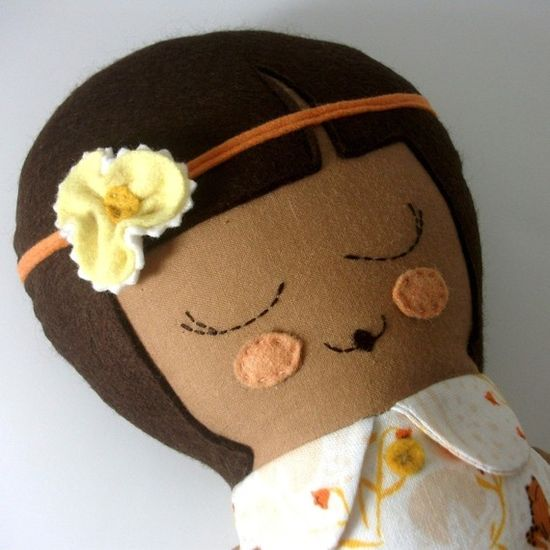 Handmade Doll-another hair possibility