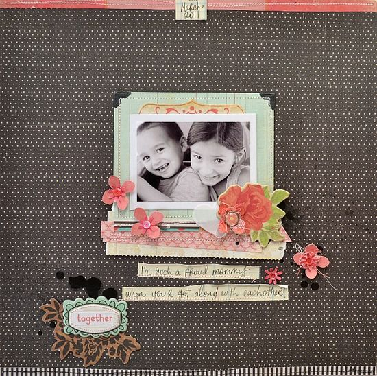 Crate Paper, Pretty Party Collection. Project by Tara Anderson