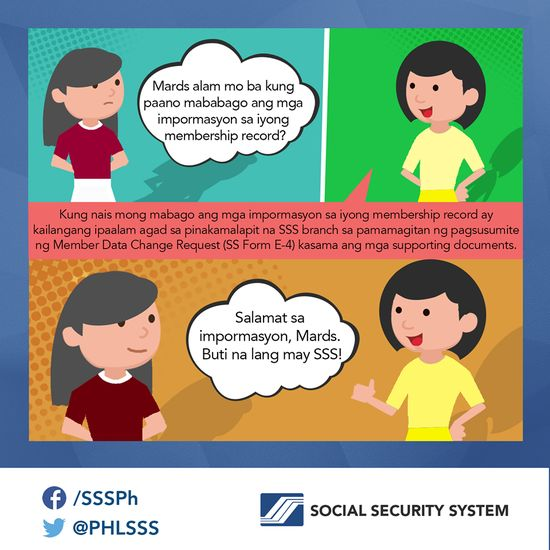 Philippine Social Security System phlsss a Pinteresten - social security request form