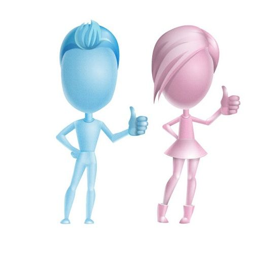 3D People Vector Character #3d character #3d char