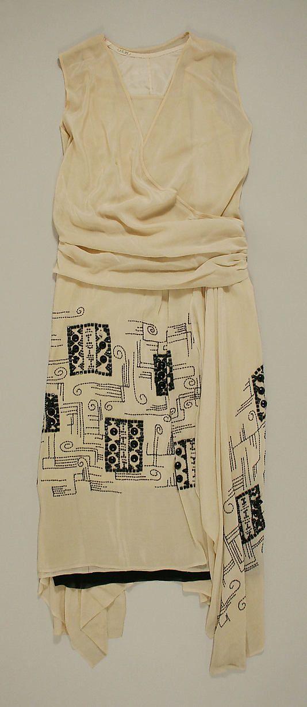 Dress, Evening  Date: 1924–25