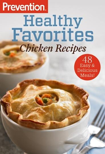 Bargain e-Cookbook: Prevention's 48 Healthy Chicken Recipes! {99 cents} #chicken #recipes