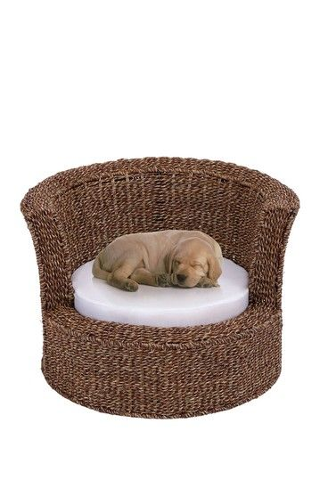 Rattan Pet Bed