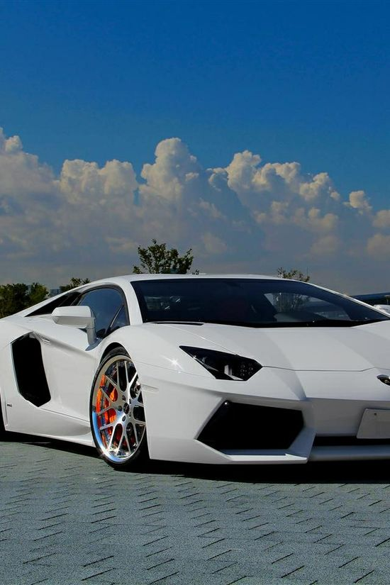A super fast sports car.