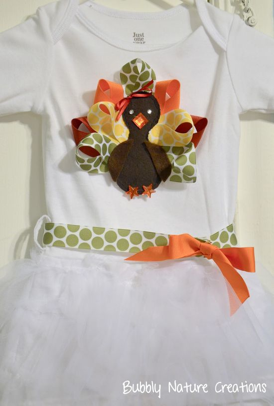 A adorable kid outfit for thanksgiving!