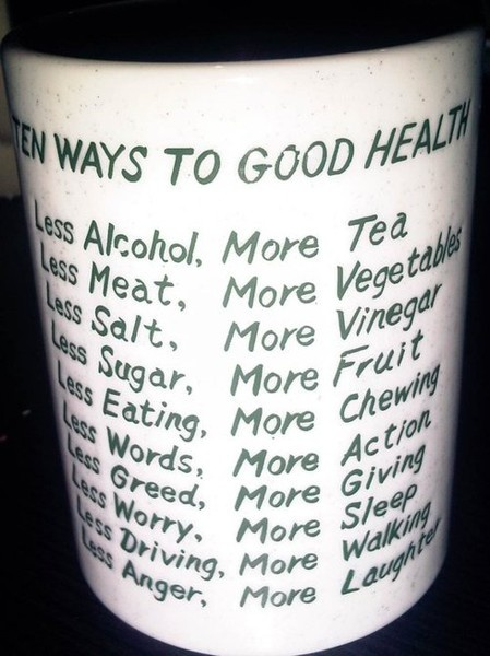 10 RULES TO FOLLOW FOR GOOD HEALTH!  www.learnhandyhea...