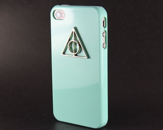 Deathly Hallows iPhone case.