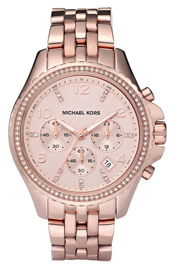 Michael Kors 'Pilot' Watch available at #Nordstrom