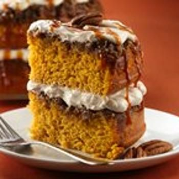 Praline-Pumpkin Cake Recipe - ZipList