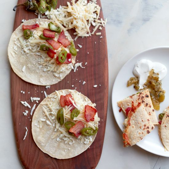 Bacon, Cheese and Jalapeño Tacos // More Delicious Tacos: www.foodandwine.c... #foodandwine