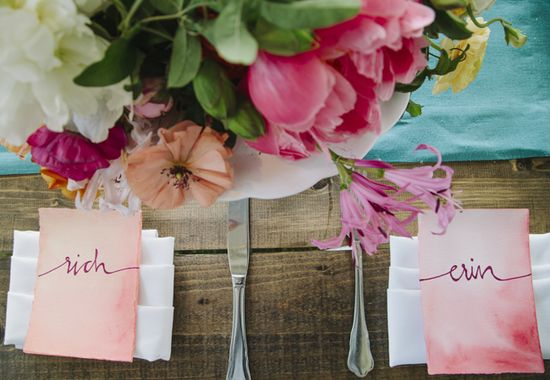 gorgeous place cards
