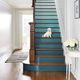 Want a hit of playfulness without making over an entire room? Here are four DIY ideas for a gorgeous staircase. (via Real Simple)