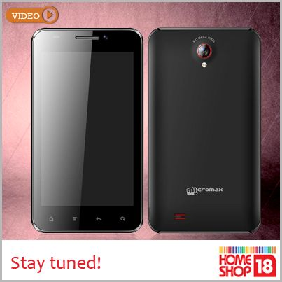 Presenting the 'Micromax A101' - one part smart phone and one part tablet. Best of both worlds