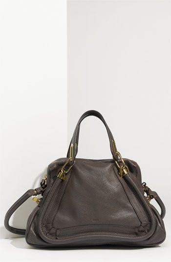 Chloé 'Paraty - Medium' Leather Satchel available at #Nordstrom