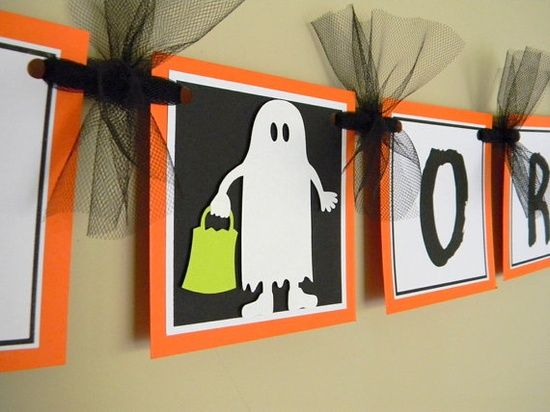 Halloween Banner @Melissa Miller how cute is the