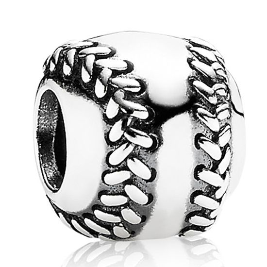 Pandora Baseball Charm #PANDORA NOW THIS IS THE ONLY REASON I'D START A PAND
