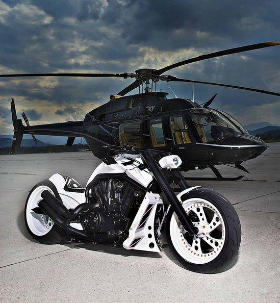 Sweet black and white bike**))