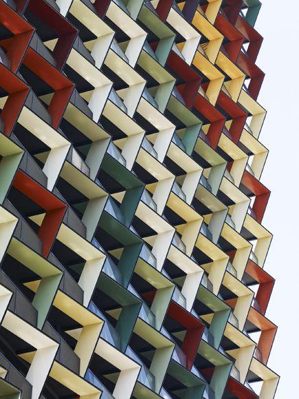 Apartment tower, Melbourne, Australia; Elenberg Fraser, architects