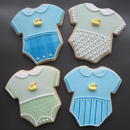 Baby onesie cookies. Well done.