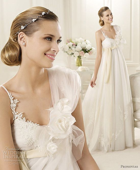 Pronovias 2013 Pre-Collection Wedding Dresses — Fashion, Costura Bridal Collections