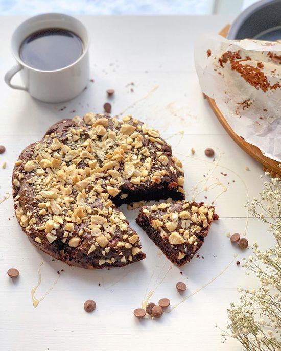 Brownies ultra-moelleux à la patate douce | Fraîchement pressé