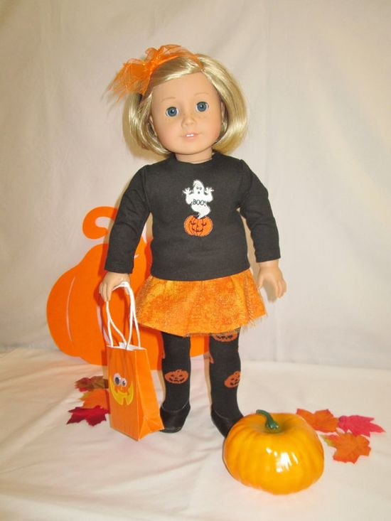Doll Ghost outfitAmerican Girl Doll/18 by diamonddollyboutique, $35.00