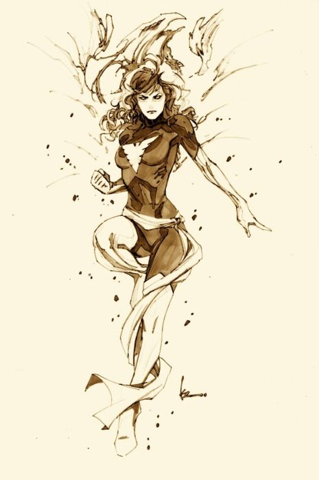 Dark Phoenix by Kenneth Rocafort