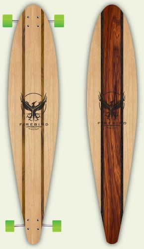 Firebird Longboards -- (Handmade Salvaged Wood Longboards from Key West,