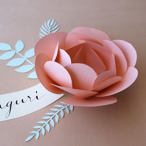 Image of Handmade paper flower