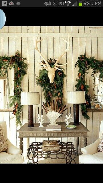 My kind of holiday decor!