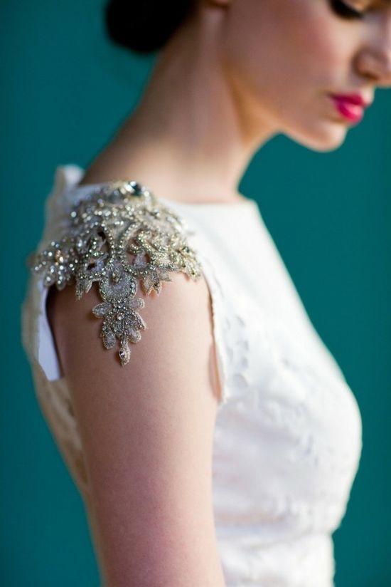 Nice sleeve detail, Carol Hannah Spring 2013