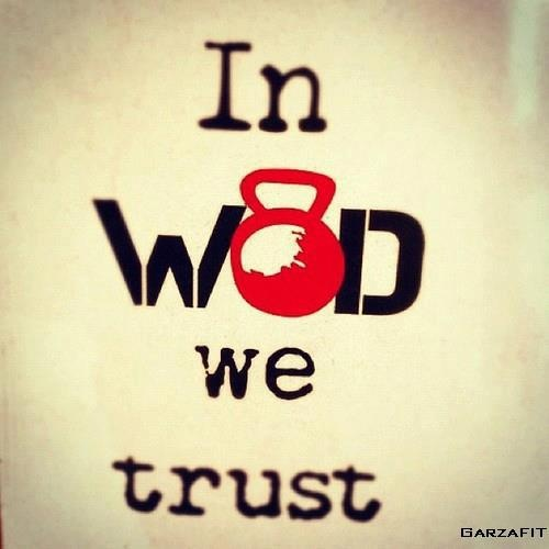 In WOD we trust.