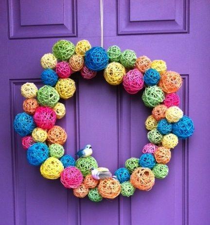 12 Sweet Spring Wreaths to DIY