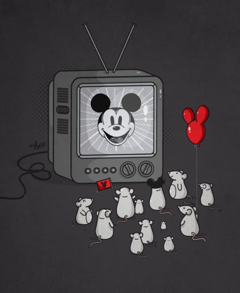 Myszka Miki w telewizji