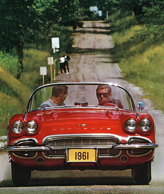 1961 Corvette.....I'd take a road trip in this car any day :)